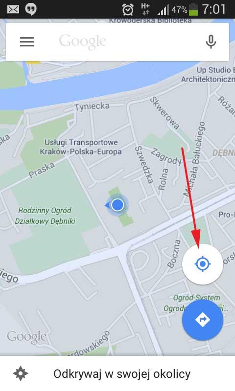 geolokalizacja i kopiowanie linku do miejsca na mapie google (1)