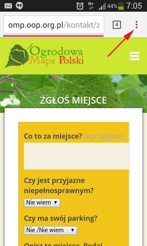 skrot do podstrony ogrodowa mapa polski na androidzie (2)