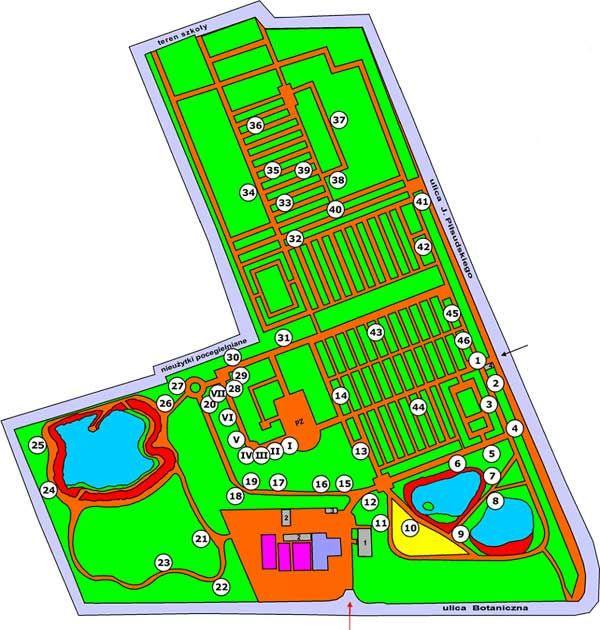 Ogrodowa Mapa Polski Miejski Ogród Botaniczny W Zabrzu