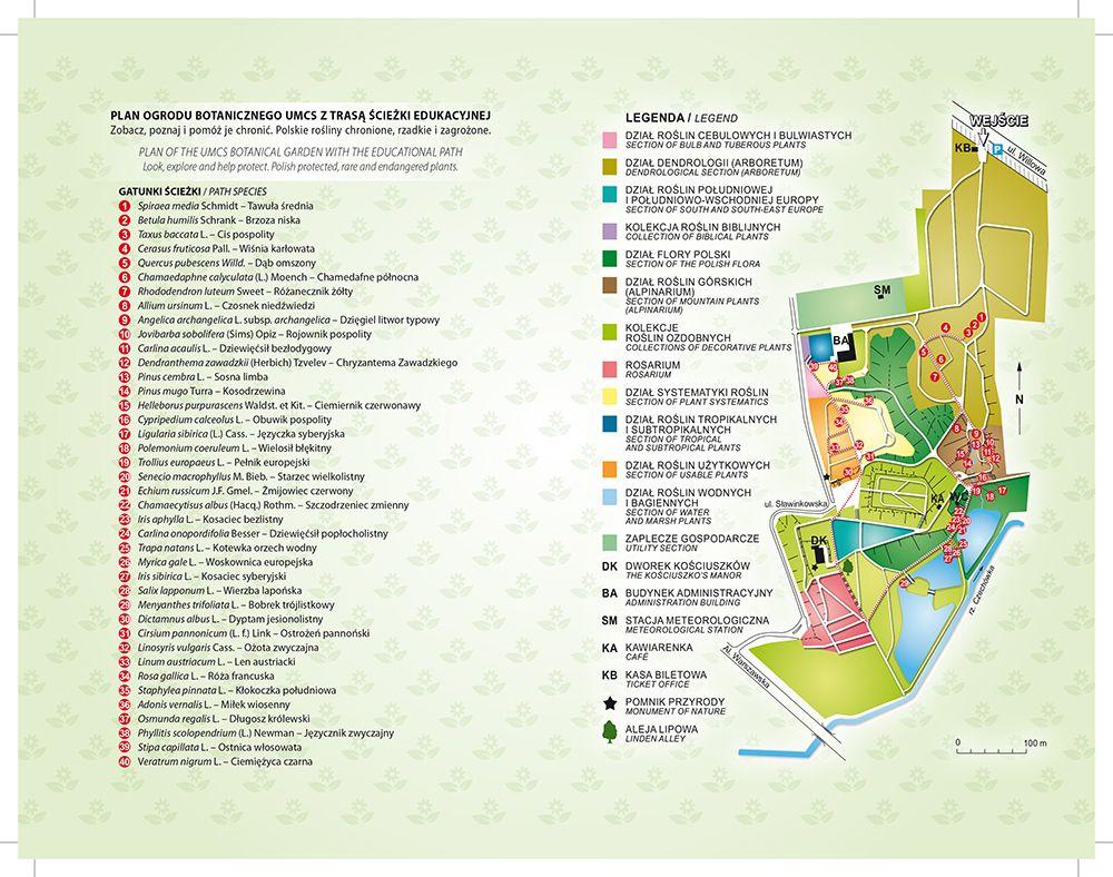 Ogrodowa Mapa Polski Ogród Botaniczny Umcs W Lublinie