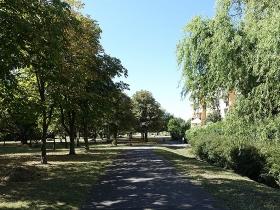 Park na osiedlu Armii Krajowej w Poznaniu