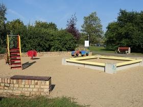 Park na osiedlu Bolesława Chrobrego w Poznaniu