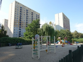 Park na osiedlu Zwycięstwa w Poznaniu