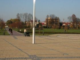 Park za Maskalisem w Busku Zdroju