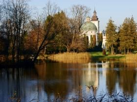 Park zamkowy w Krasiczynie